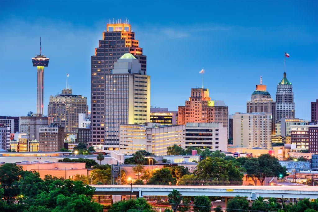 City of San Antonio, TX.